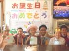 お誕生日おめでとうございます!これからも元気で過ごしてください(^v^)