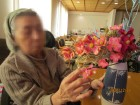 利用者様が花を生けて下さいました(^-^)