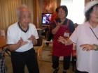 利用者様が得意な阿波踊りを披露してくださいました!踊っている時が1番楽しそうです♪