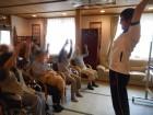 体操レク♪ラジオ体操やリハビリ体操、タオル体操と様々な体操を取り入れております。
