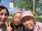3人でお散歩に来たよ!天気が良くて気持ちいね(^◇^)
