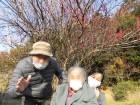 三岳梅林に行きました♪梅が所々咲いていましたが、まだ風が少し冷たいね(>_<)