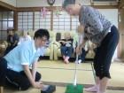 パターゴルフに挑戦ヾ(ω` )/
