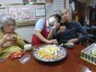12.おやつパーティー☆皆さんの好きなお菓子が分かります(*^-^*)いっぱい召し上がれ♪