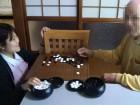 囲碁の真剣勝負です!!