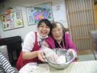 おやつ作り☆きなこ餅を作っておいしく頂きました(#^.^#)