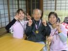 優勝者への金メダル贈呈!(^o^)