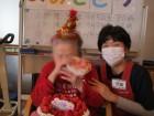 誕生日会では泣いて喜んでくださいました。