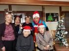 クリスマス会!みんなサンタで高笑い(笑)
