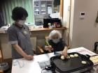 お芋を焼きまーす(*・ω・)ゞ⌒☆