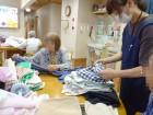洗濯物がいっぱいあるね~(´∀`; )