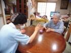 8.皆さん、キャッチボールは楽しんでしてくださいます☆ボールをキャッチするのも指の運動です!