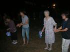 盆踊り(隣の公園にて)
