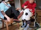 車椅子のご利用者さまもしっかりと下肢のトレーニングを行なえていますね☆ その調子ですよッ(*≧∀≦)b