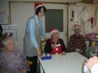 クリスマス会のゲーム中\(゜ロ\)(/ロ゜)/