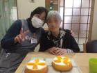 おいしそうなケーキが出来ました♪(^O^)/