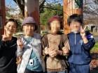 中学生の子たちが遊びに来てくれたよ!(^_-)-☆