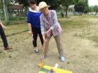 地域の行事に参加したよ!グラウンドゴルフ楽しかった~!(^^)!