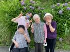 出浦浄水場へ紫陽花ドライブ♪とてもキレイに咲いていました(^^)/