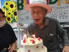 8月生まれの方のお誕生日会です。優しくて明るい夏男さんです。