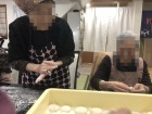 年末お餅つき*5キロ分のお餅を丸めました(●^o^●)