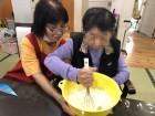 ≪手作りおやつ≫美味しくな~~れっ☆☆職員と一緒に美味しいおやつを作ります。
