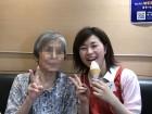 外に出かけておやつ☆彡ソフトクリームは美味しいです(#^.^#)