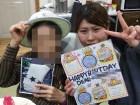 ≪♪お誕生日会♪≫手作りの色紙と、心ばかりのプレゼントでお祝いさせて頂きました(*^^)v