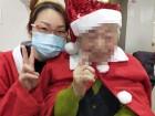 サンタとトナカイの衣装来てクリスマスパーティーしたよ(*^_^*)