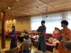 【敬老会】職員で花笠音頭を踊りました!