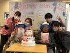 【誕生日会】今月はお二方の誕生日をお祝いしました!おめでとうございます♪