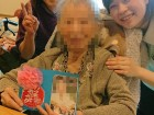 《母の日》日ごろの感謝を込め手作りカードと手作りお菓子のプレゼント(*>ω<)っ畄! お母様方、いつまでもお元気で!