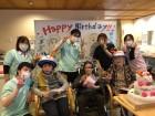 今月の誕生日会です(^▽^)/これからも元気にお過ごしください!