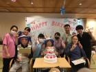 今月は3名の方の誕生日をお祝いさせて頂きました!