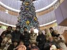 夜のドライブ★リヴァーウォークの巨大クリスマスツリーの前で記念撮影♪♪